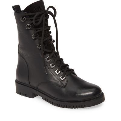 Sheridan Mia Manner Combat Boot - Black
