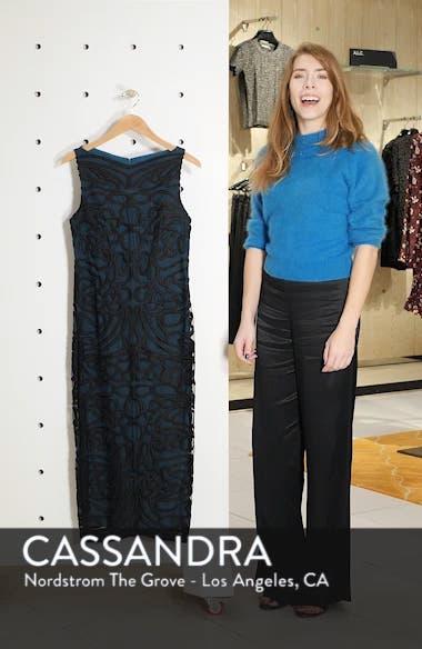 Soutache Embroidered Midi Dress, sales video thumbnail