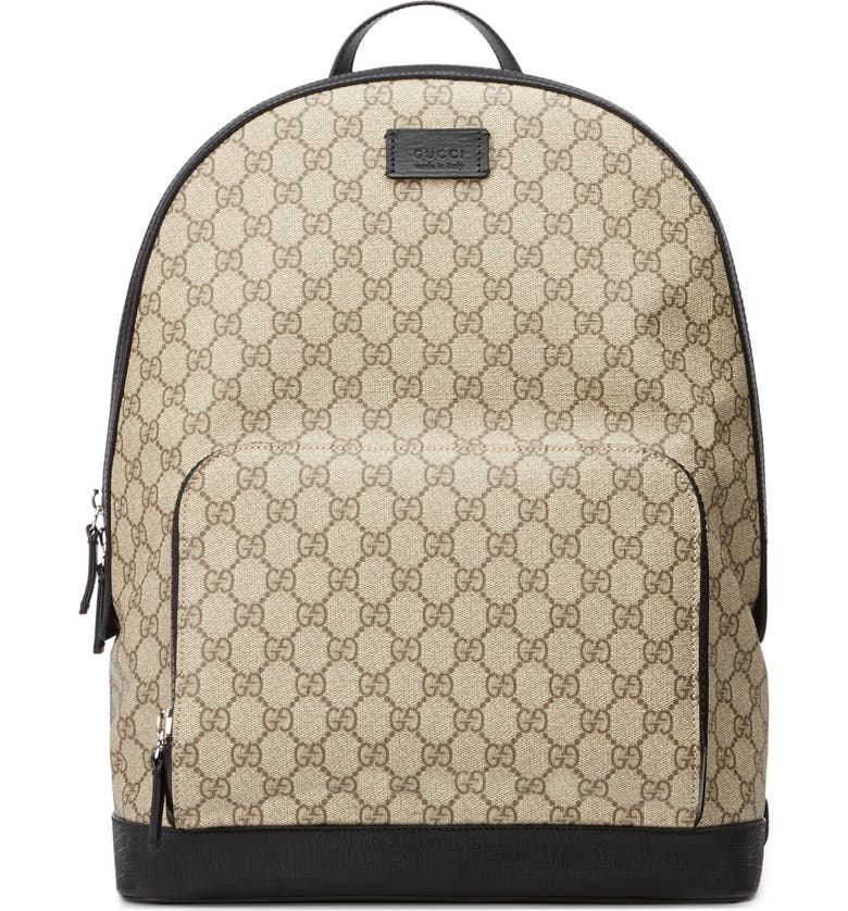 GUCCI Eden Canvas Backpack, Main, color, 200