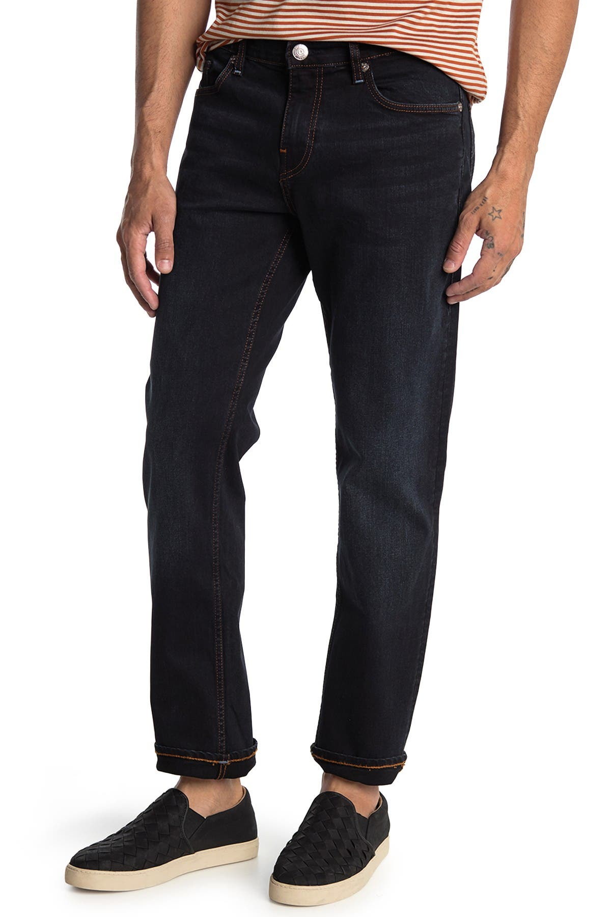 Image of True Religion Geno No Flap Straight Leg Jeans