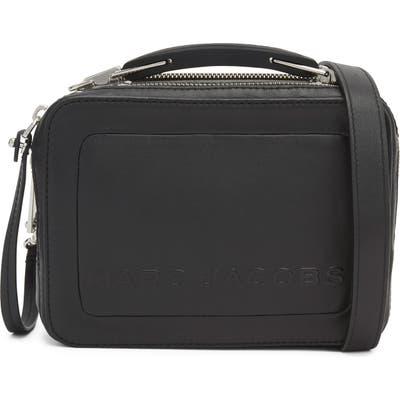Marc Jacobs The Box 20 Leather Crossbody Bag - Black