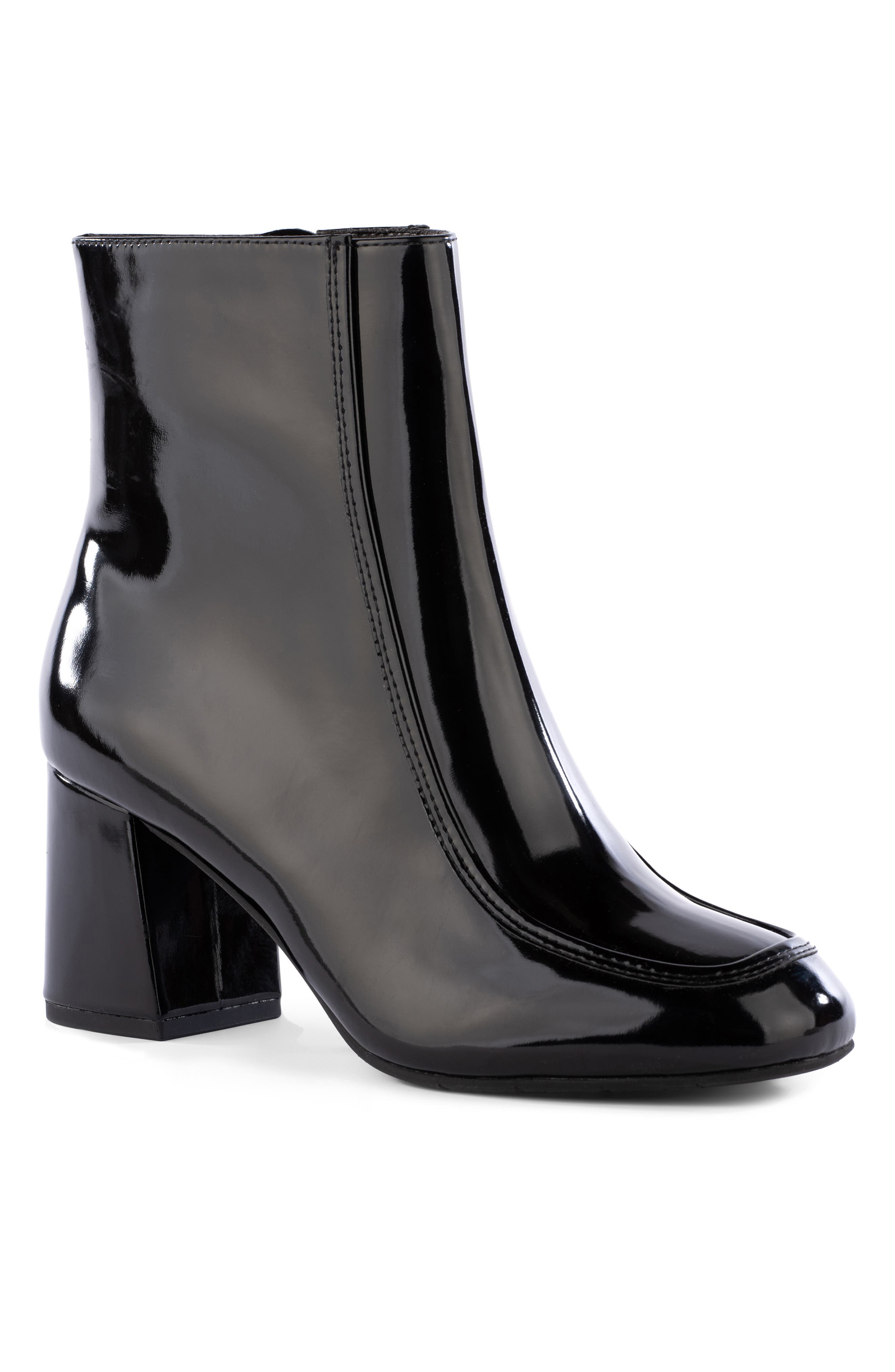 After All Vegan Leather Bootie