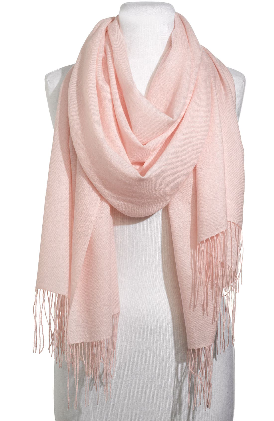 ,                             Tissue Weight Wool & Cashmere Wrap,                             Main thumbnail 175, color,                             652