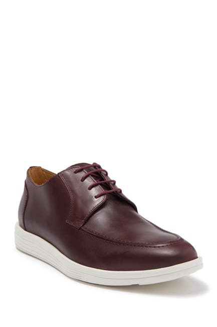 Image of Marc Joseph New York Fullerton Apron Toe Leather Derby