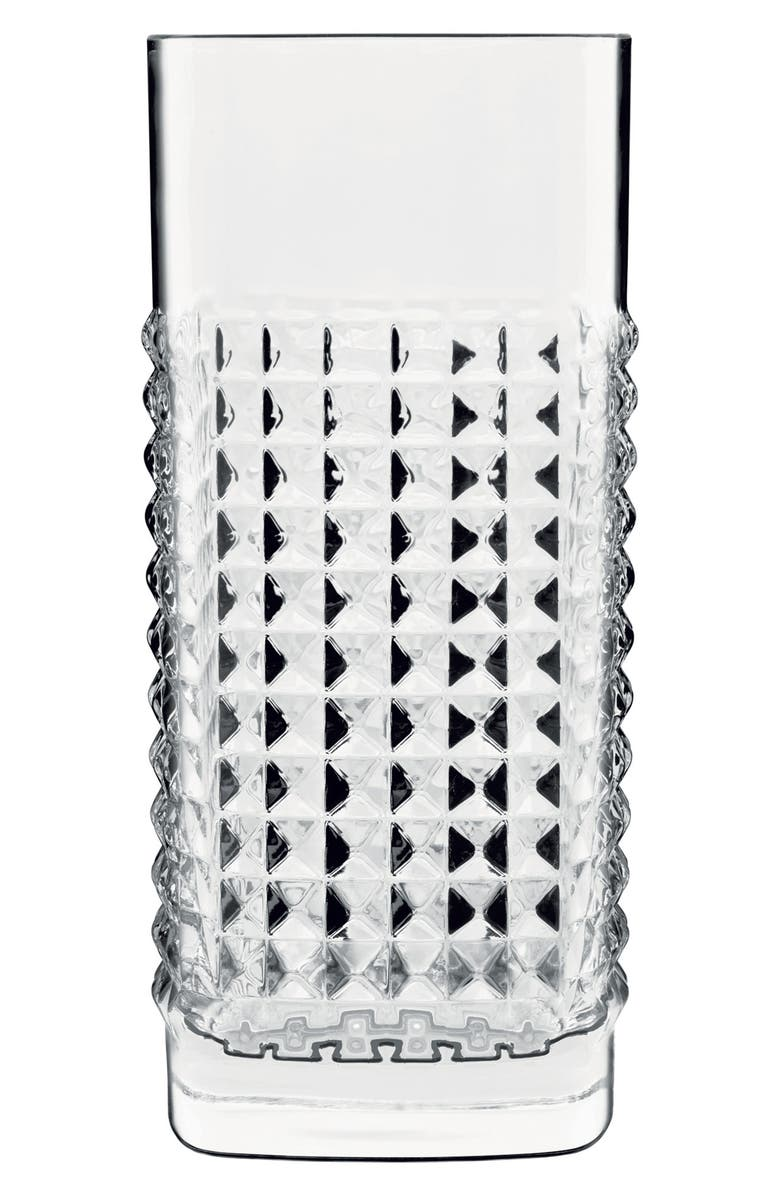 LUIGI BORMIOLI Mixology Elixir Set of 4 Glasses, Main, color, CLEAR