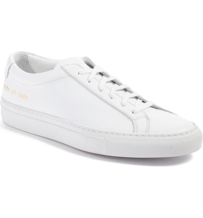 COMMON PROJECTS Original Achilles Sneaker, Main, color, WHITE LEATHER