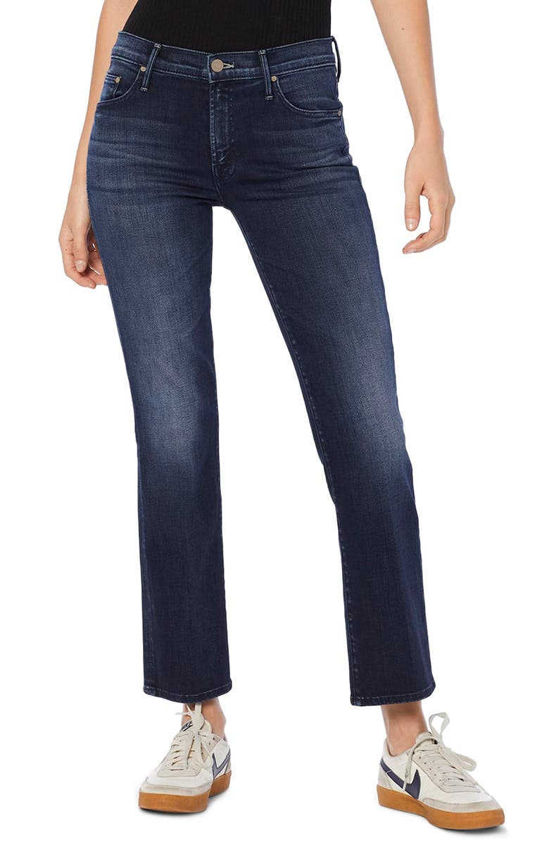 MOTHER The Outsider Crop Bootcut Jeans, Main, color, 420