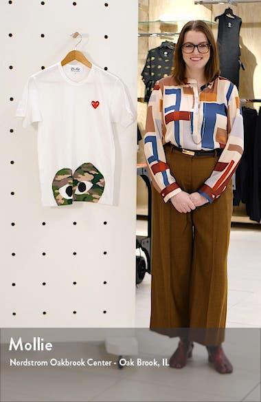 Camo Peek Heart T-Shirt, sales video thumbnail