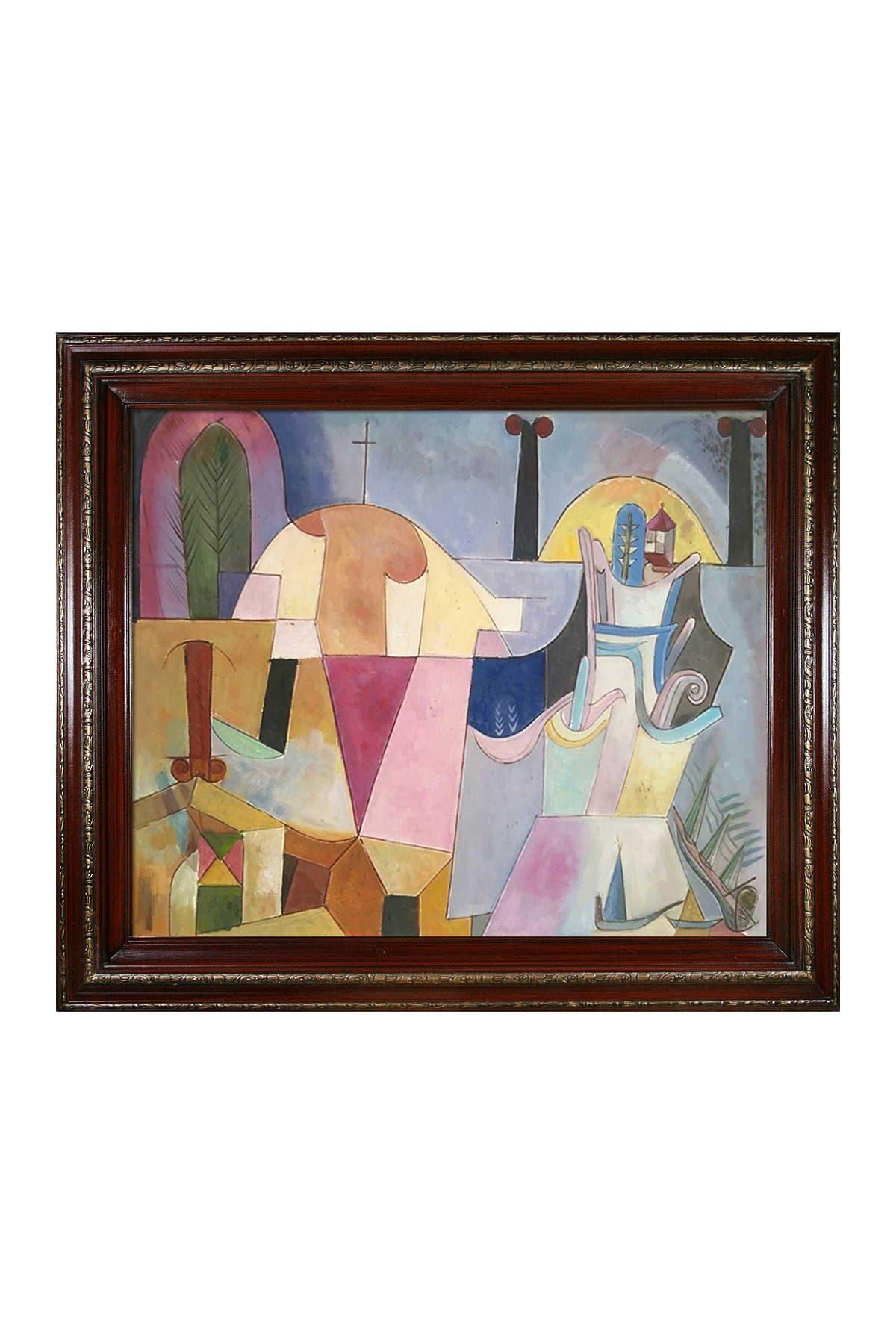 "Image of Overstock Art Tale a la Hoffmann with La Scala Frame, 23"" x 27"""