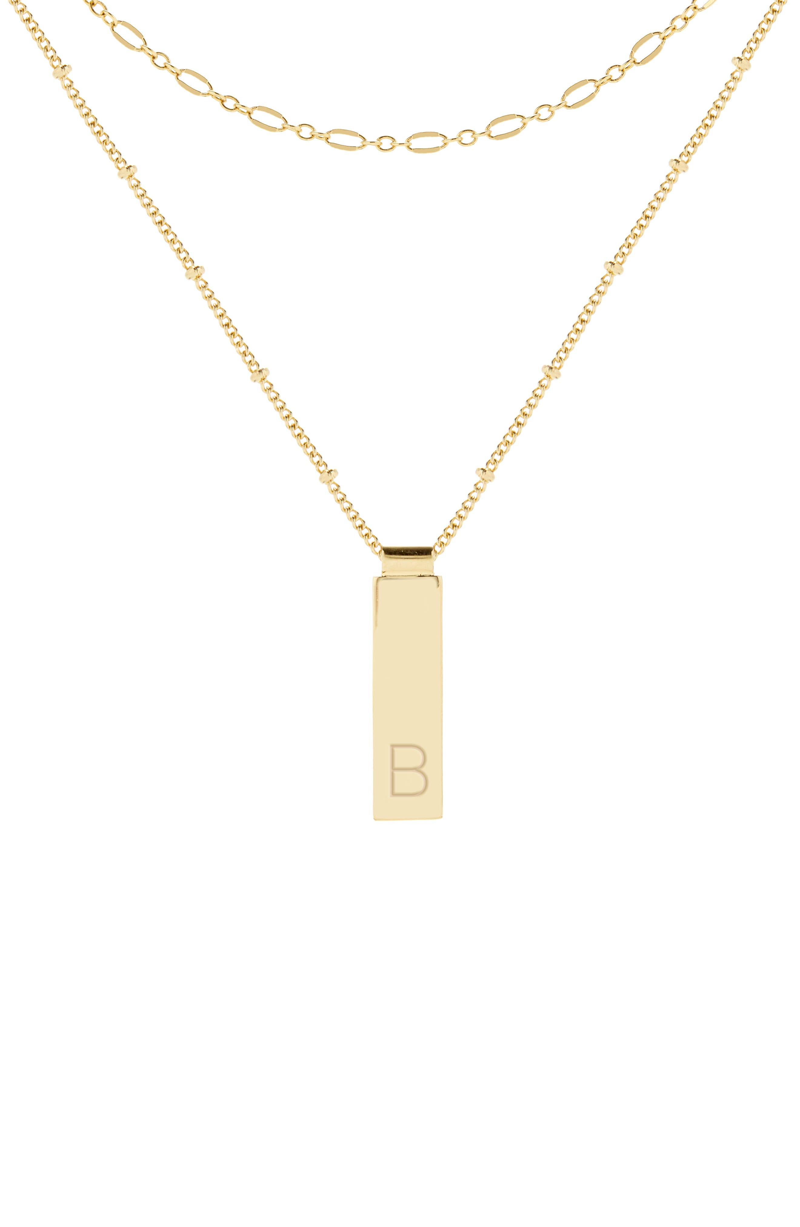 Maisie Set Of 2 Initial Layering Necklaces