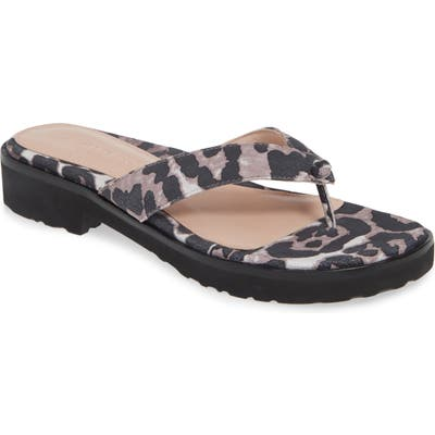 Taryn Rose Collection Taziana Flip Flop- Brown