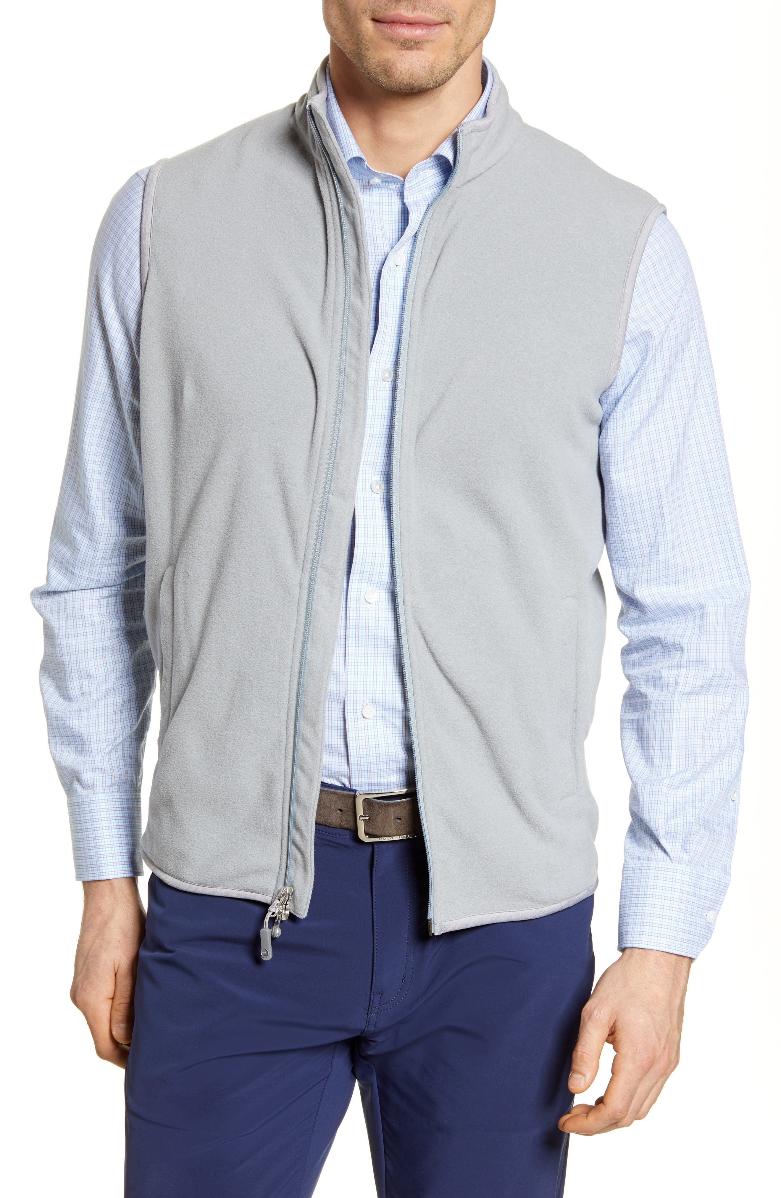 Image of Peter Millar All Day Fleece Vest