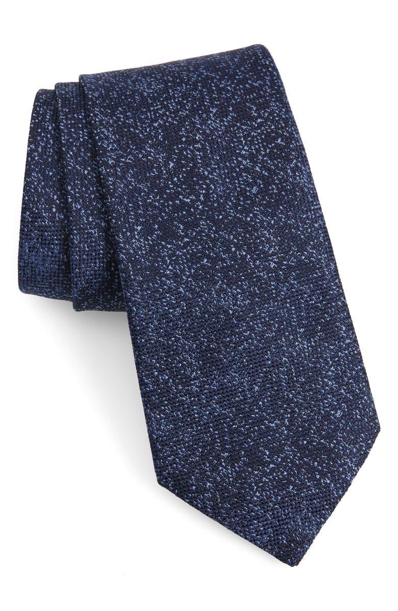 JOHN VARVATOS STAR USA Solid Silk Tie, Main, color, 495