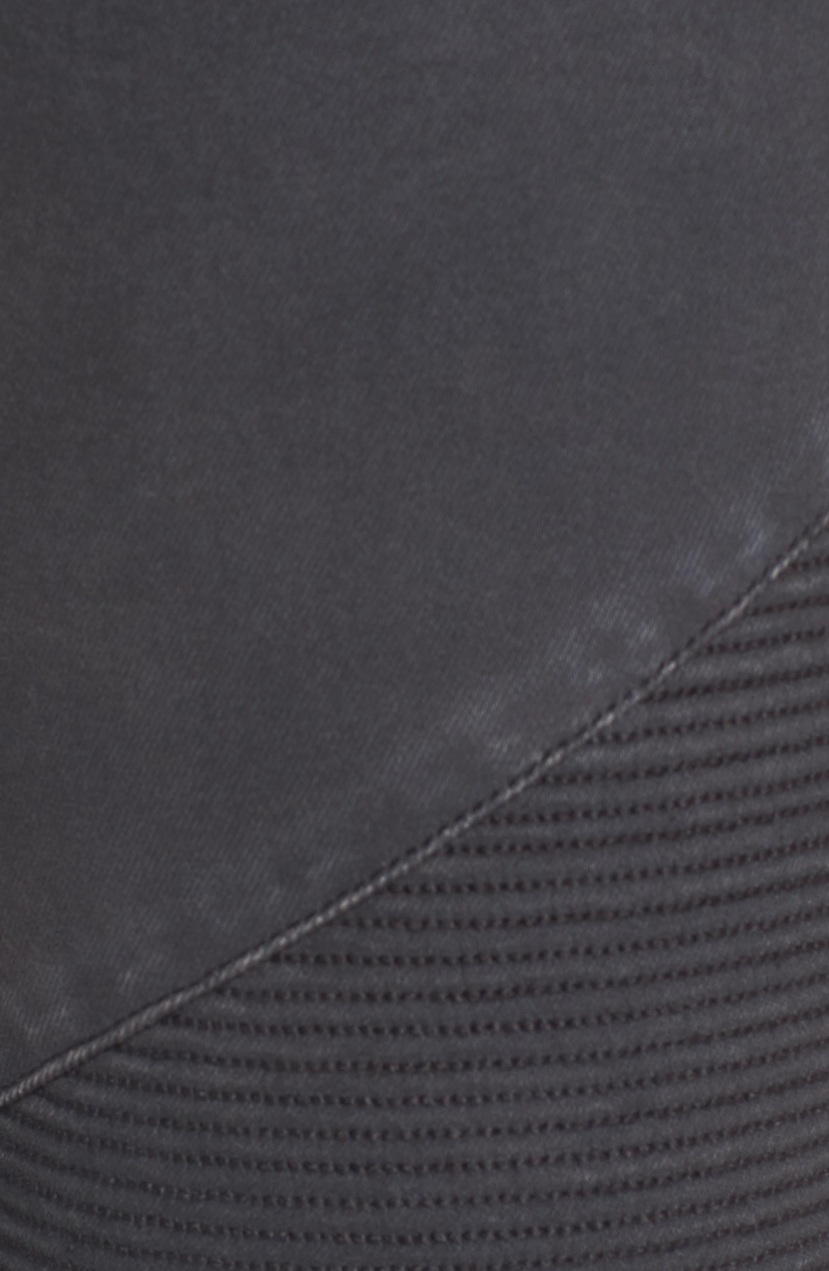 ,                             Moto Skinny Jeans,                             Alternate thumbnail 5, color,                             001