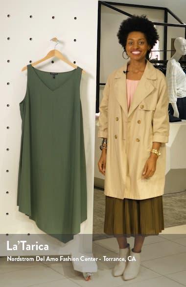 Asymmetrical Shift Dress, sales video thumbnail