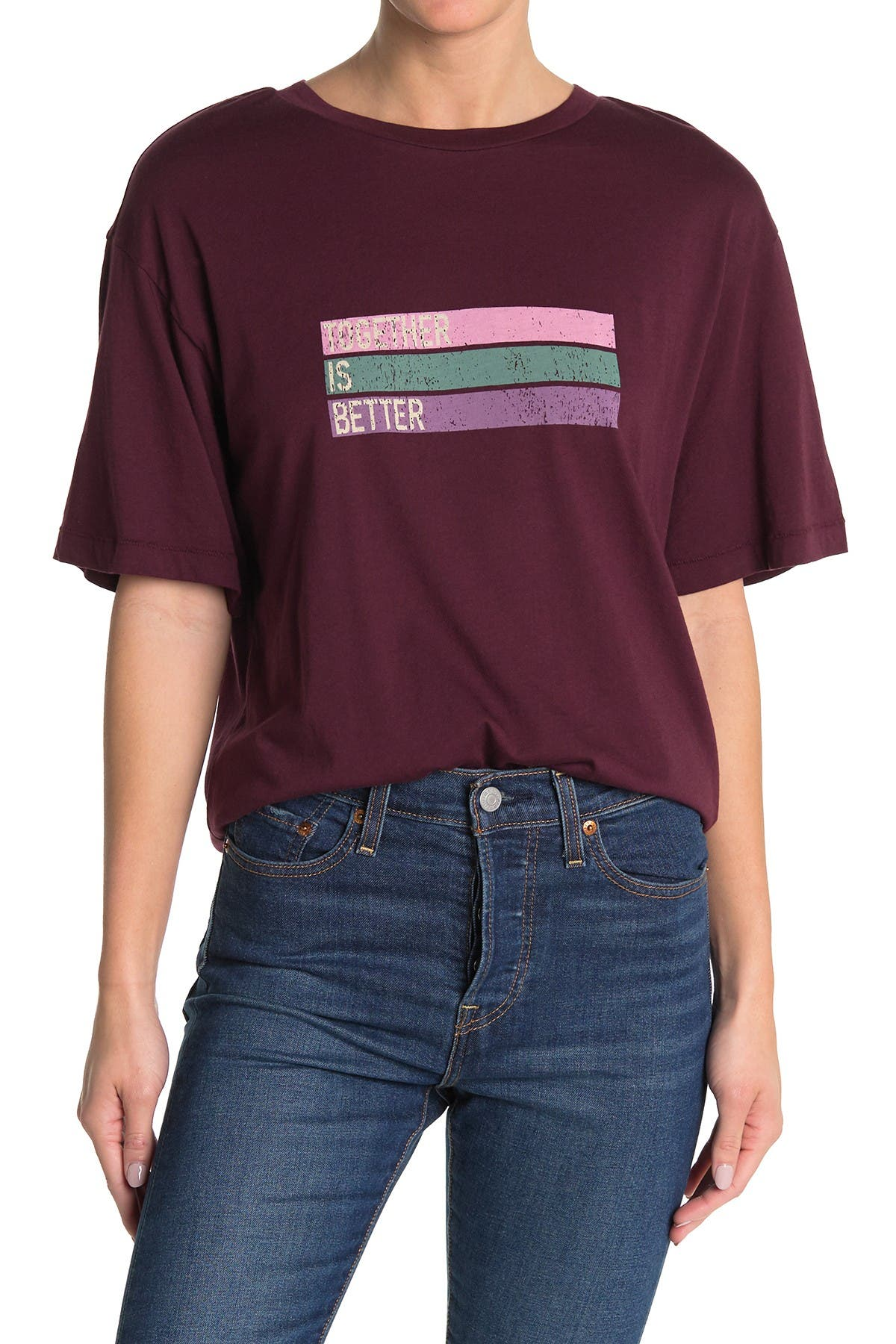 Image of Abound Oversize Graphic T-Shirt