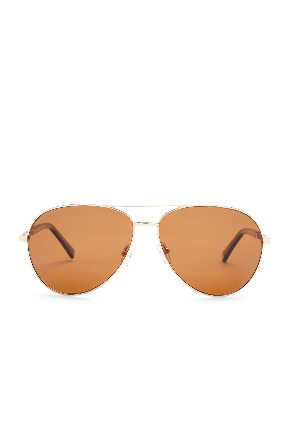 Image of Ted Baker London 62mm Aviator Sunglasses