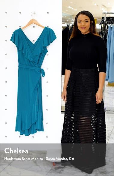 Phoebe Flounce Wrap Dress, sales video thumbnail