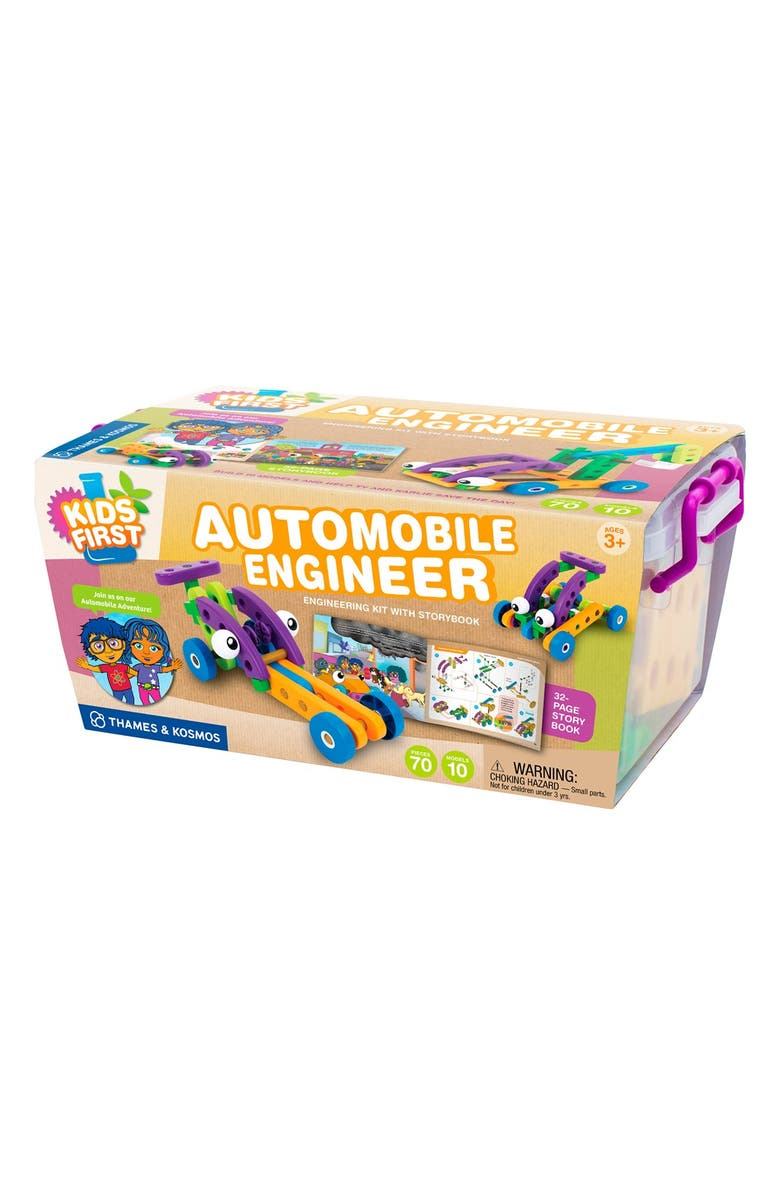 THAMES & KOSMOS 'Kids First - Automobile Engineer' Kit, Main, color, 800