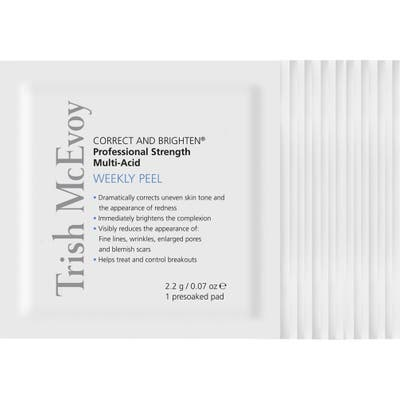 Trish Mcevoy Correct And Brighten Professional-Strength Weekly Peel