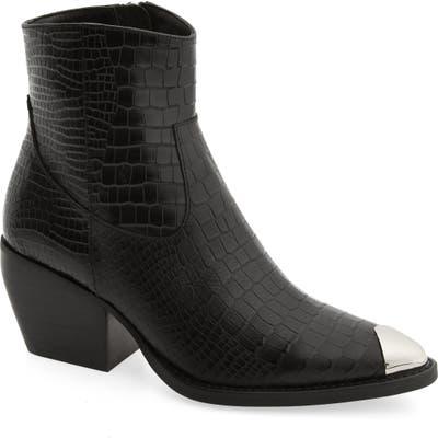 Tony Bianco Presley Western Boot, Black