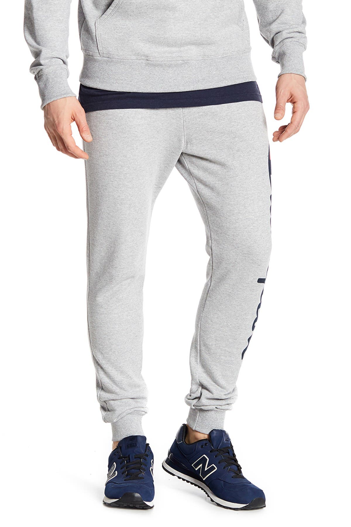Image of Champion Powerblend Logo Joggers