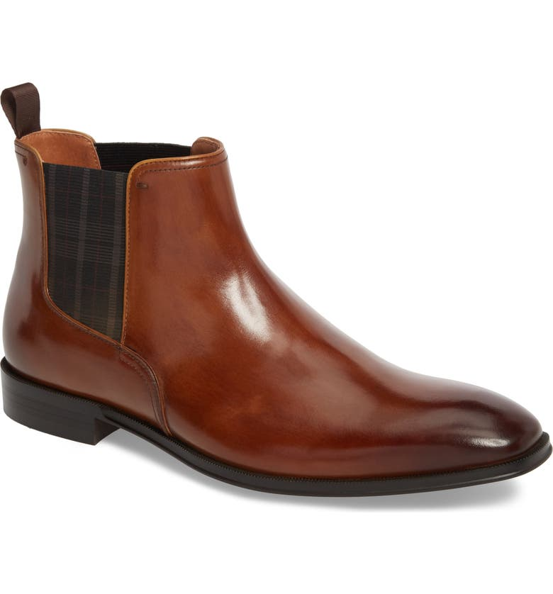 FLORSHEIM Belfast Chelsea Boot, Main, color, COGNAC LEATHER