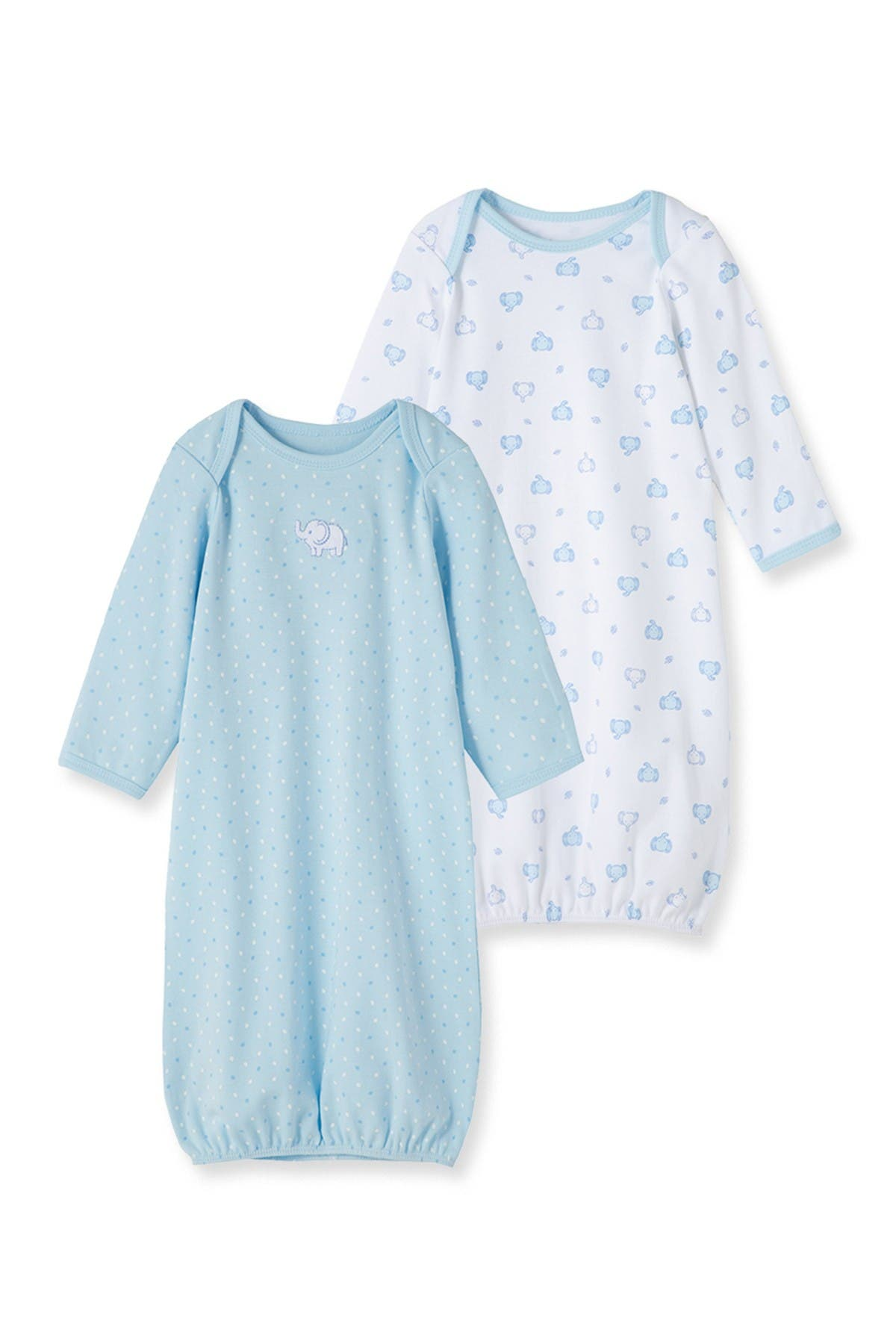 Image of Little Me Elephant Gown - Set of 2