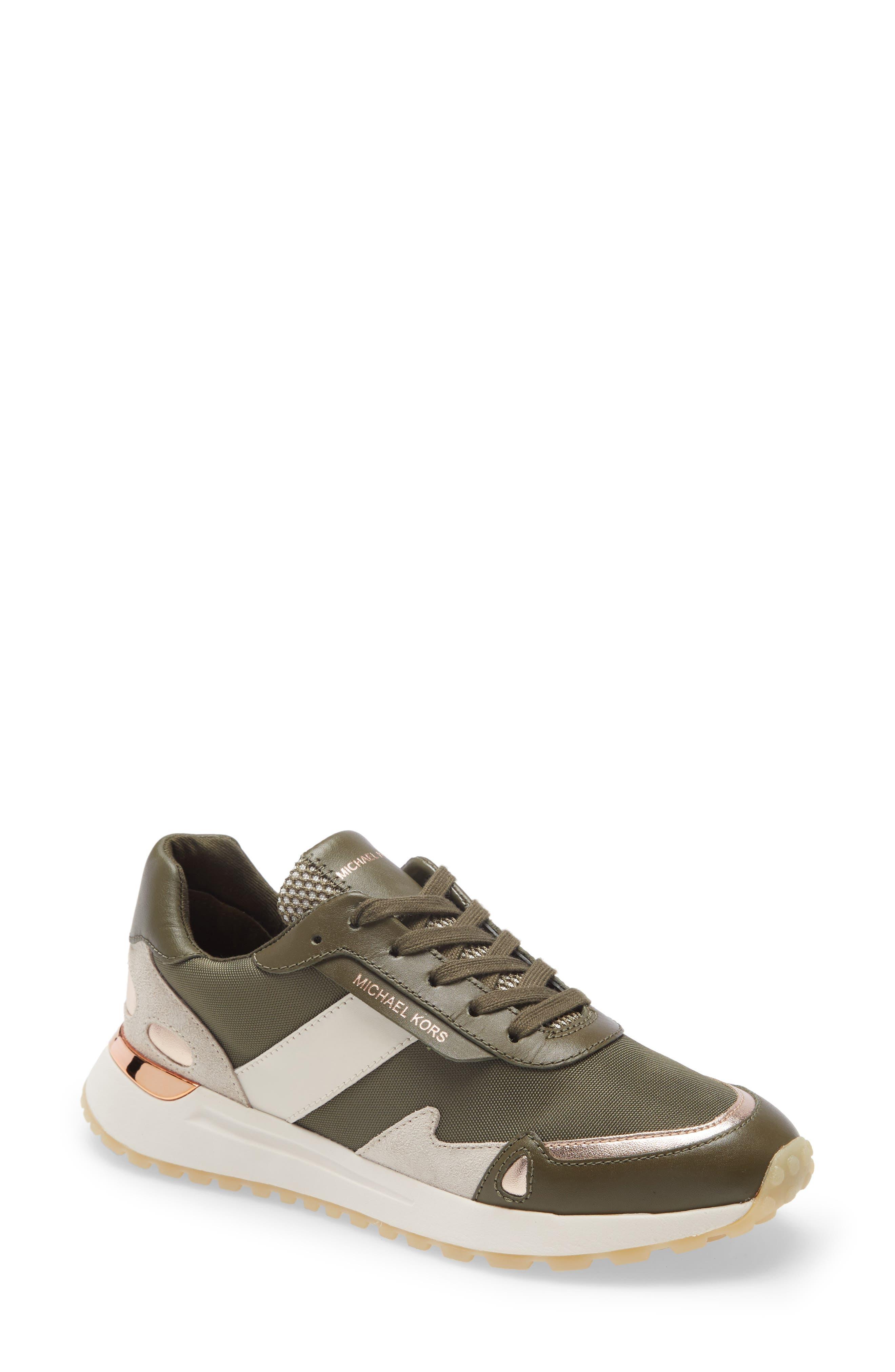Image of MICHAEL Michael Kors Monroe Lace-Up Sneaker