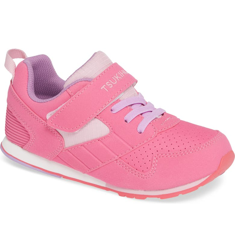 TSUKIHOSHI Racer Washable Sneaker, Main, color, FUCHSIA/ PINK