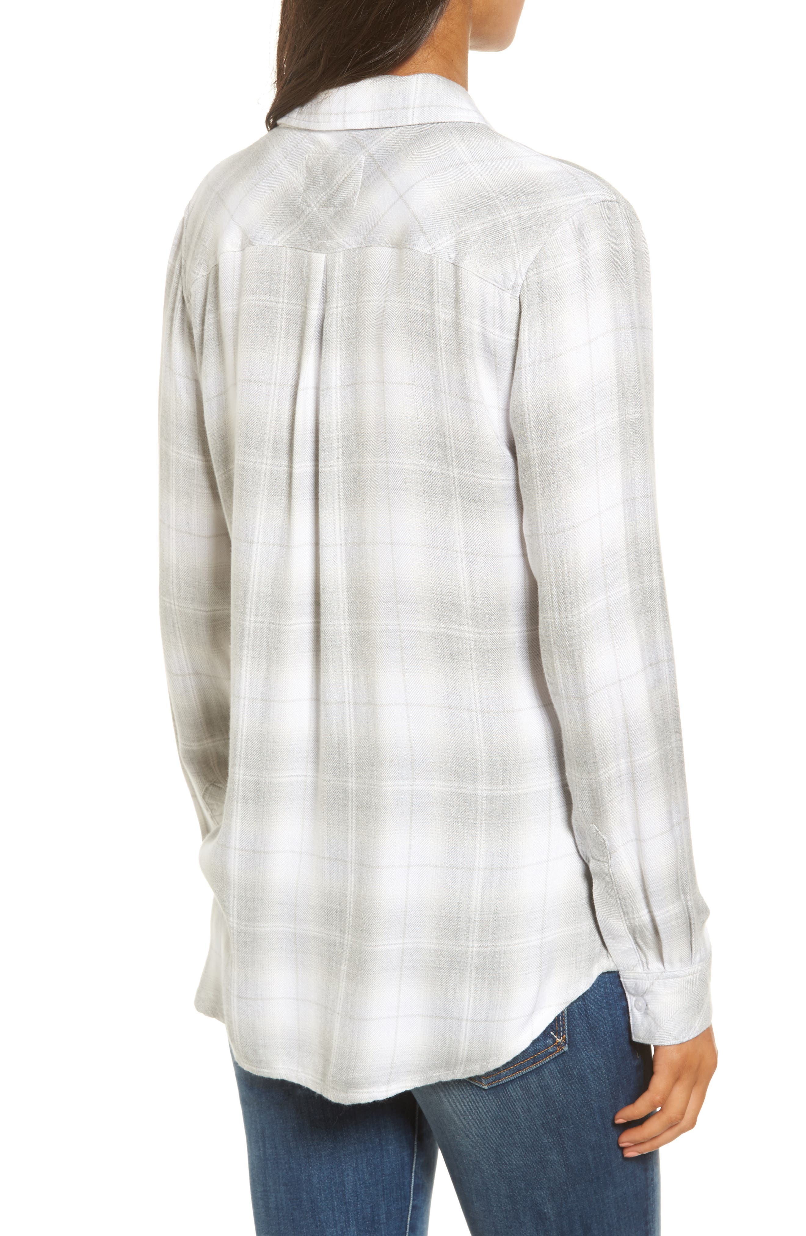 ,                             Hunter Plaid Shirt,                             Alternate thumbnail 556, color,                             063