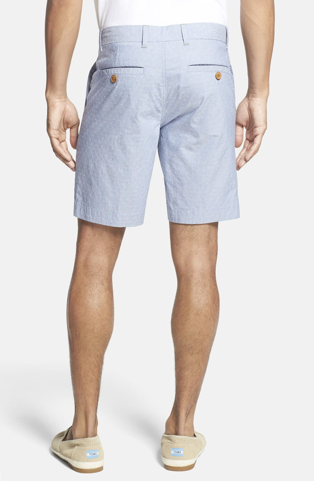 ,                             'Noroed' Slim Fit Dobby Shorts,                             Alternate thumbnail 8, color,                             452