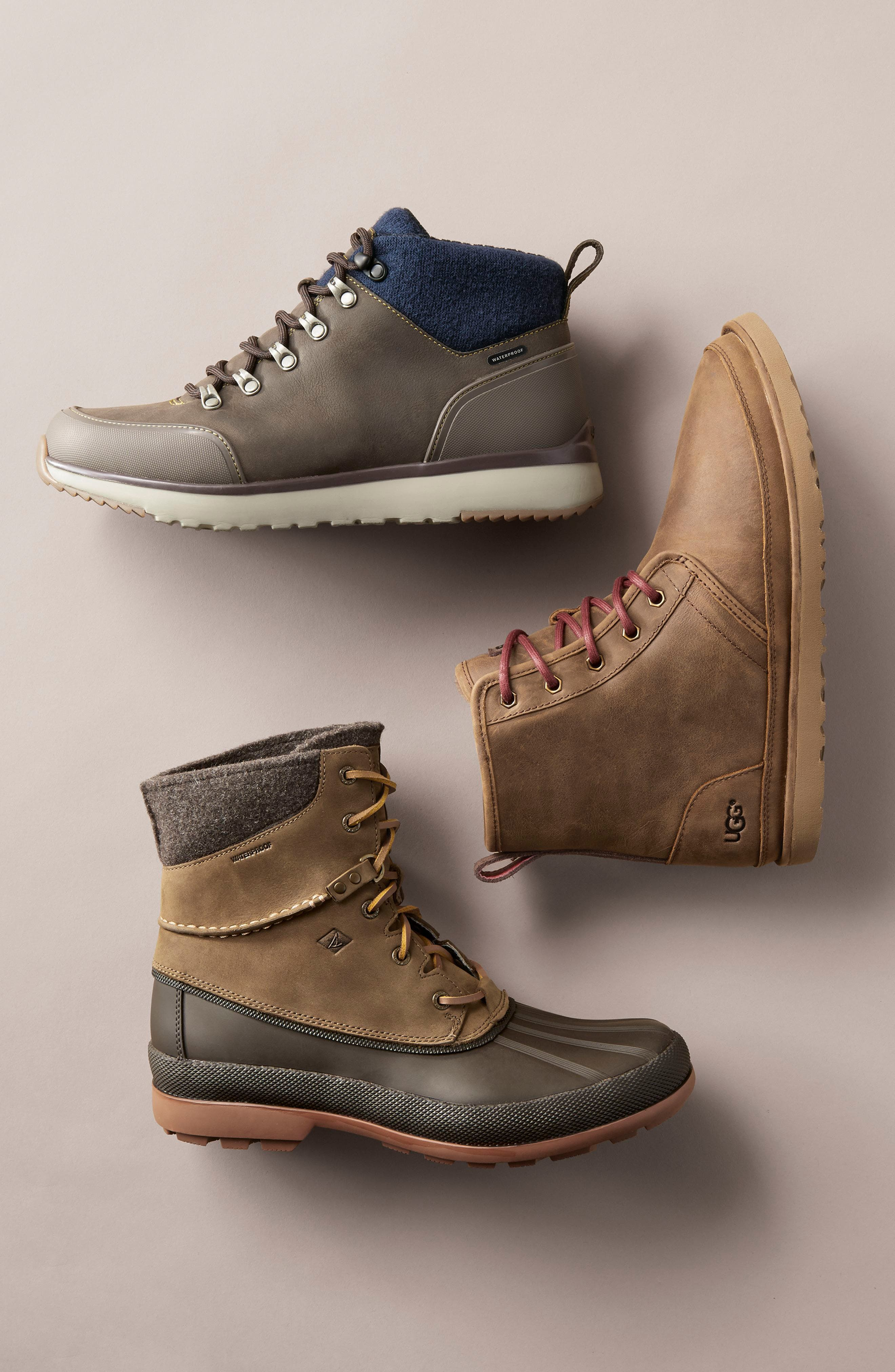 ,                             Harkley Plain Toe Waterproof Waterproof Boot,                             Alternate thumbnail 9, color,                             CHARCOAL