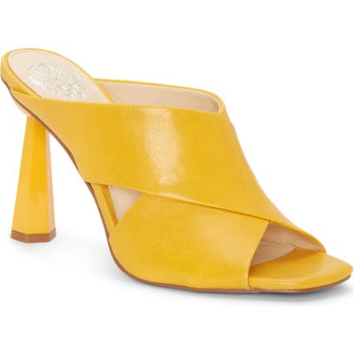 Vince Camuto Averessa Slide Sandal, Yellow