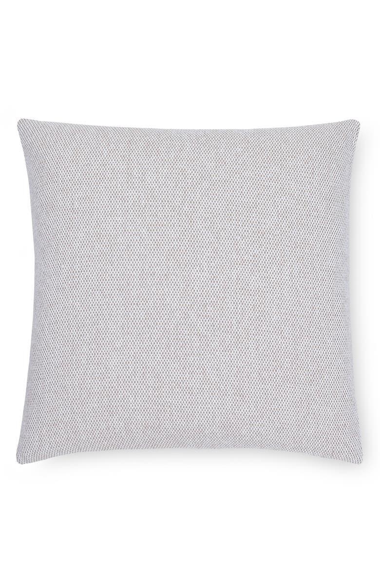 SFERRA Terzo Accent Pillow, Main, color, MUSHROOM