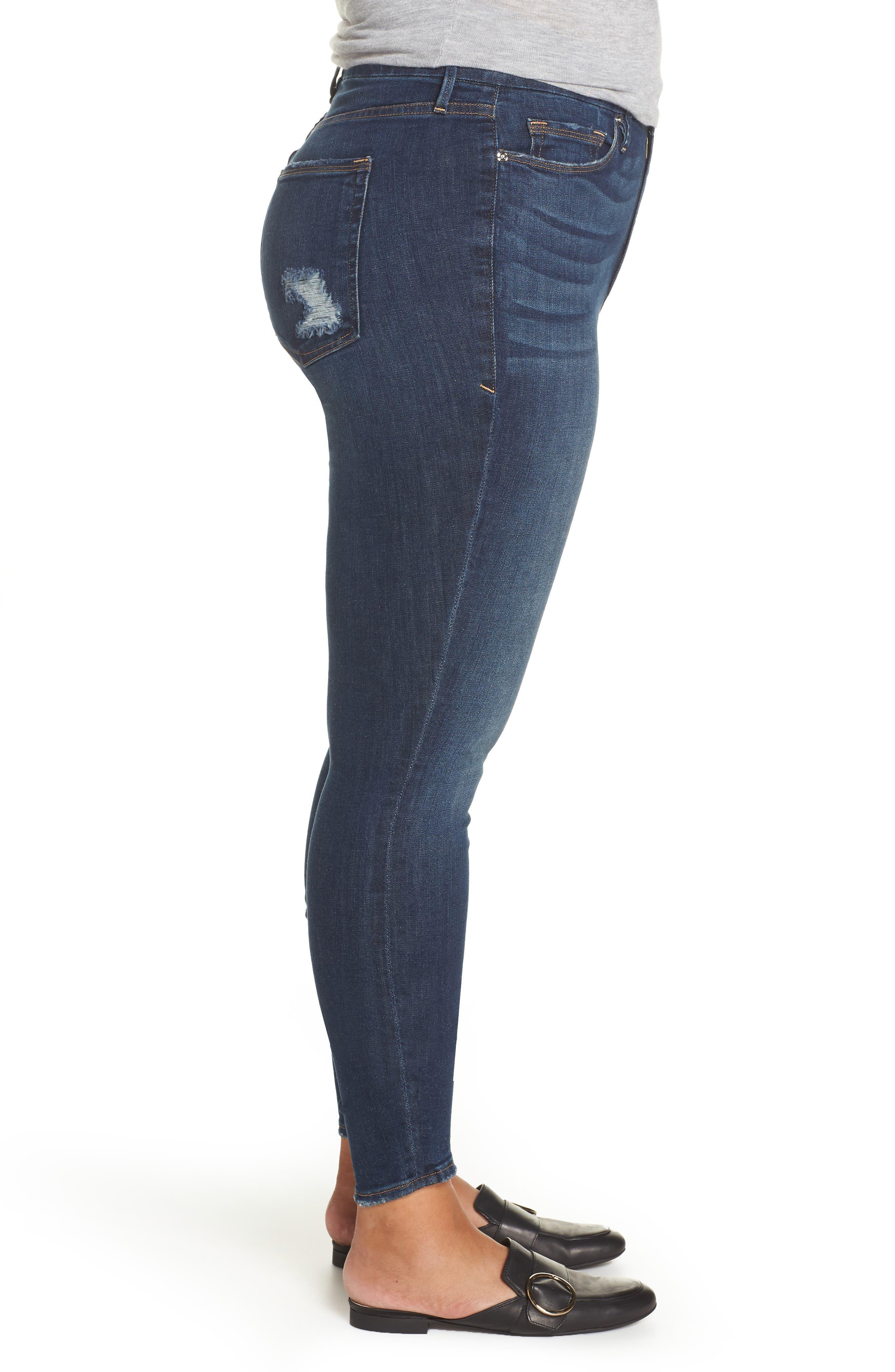 ,                             Good Legs High Waist Skinny Jeans,                             Alternate thumbnail 19, color,                             403