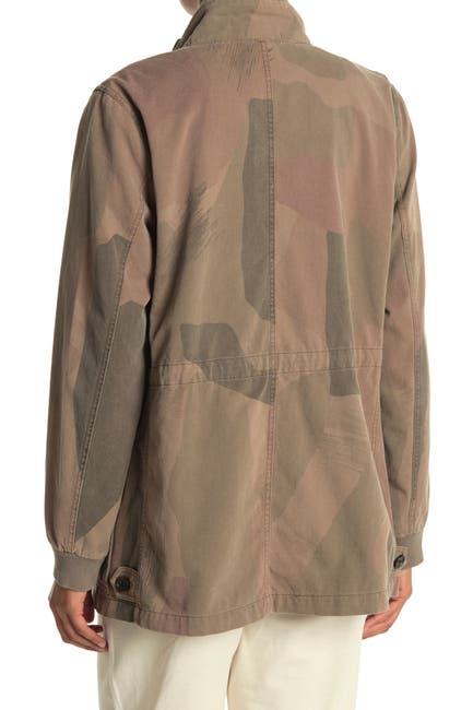 Image of James Perse Camo Cargo Jacket