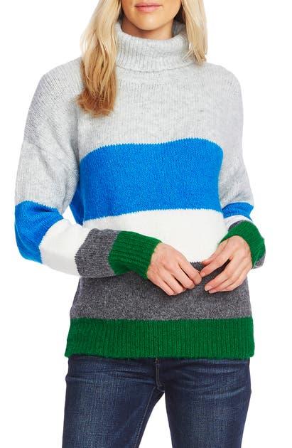 Vince Camuto Sweaters COLORBLOCK TURTLENECK SWEATER