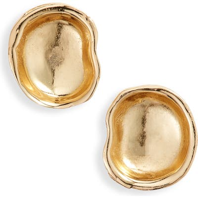 Argento Vivo Molten Stud Earrings