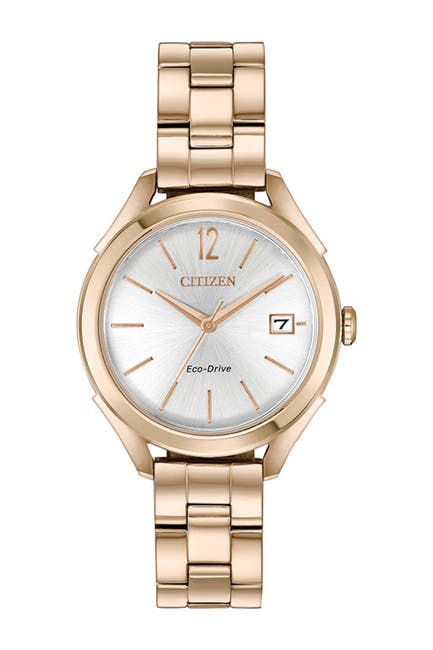 Image of Citizen Women's Standard Stainless Steel Eco-Drive Watch, 34mm