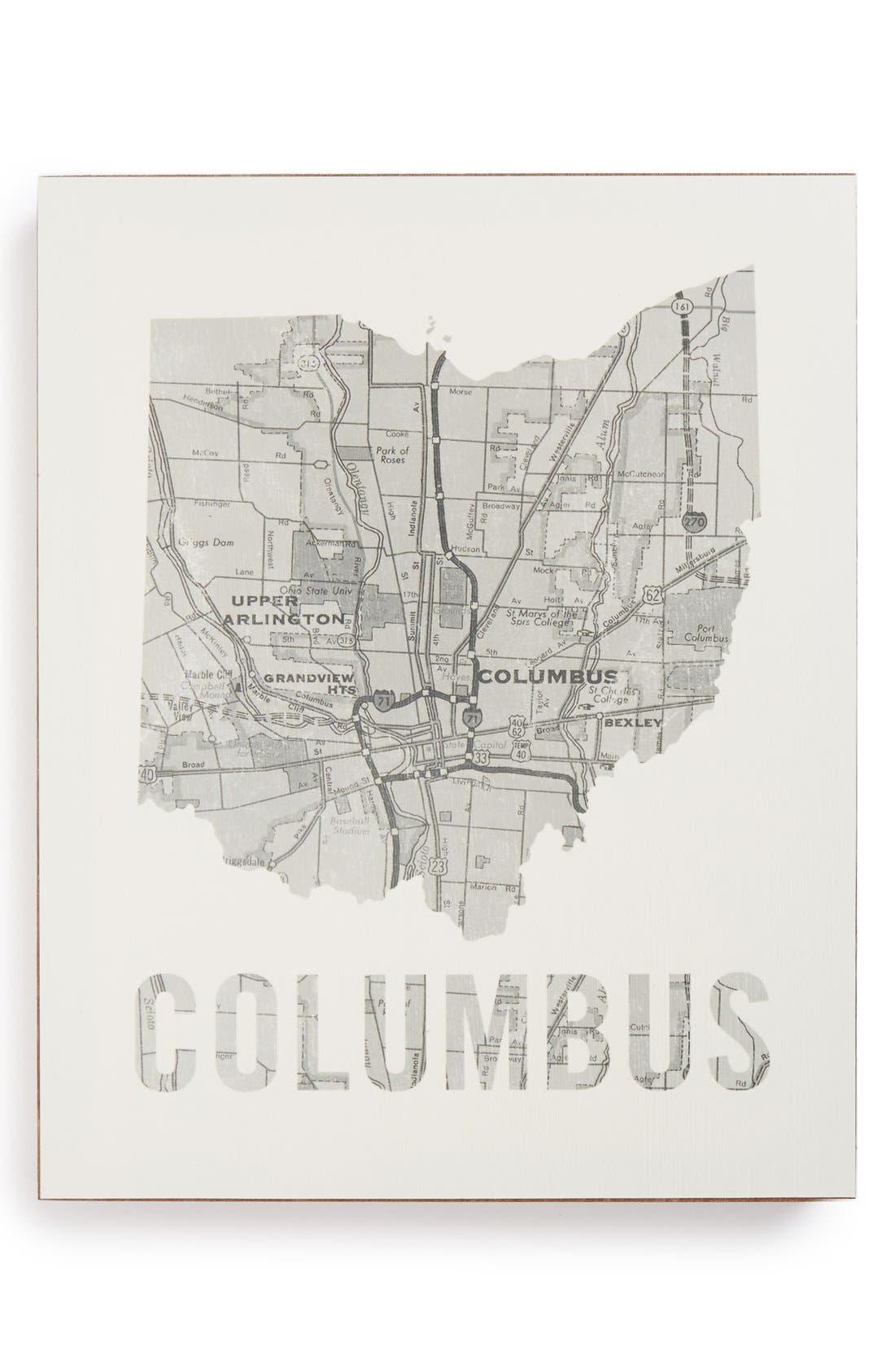 ,                             City Map Wall Art,                             Main thumbnail 12, color,                             031
