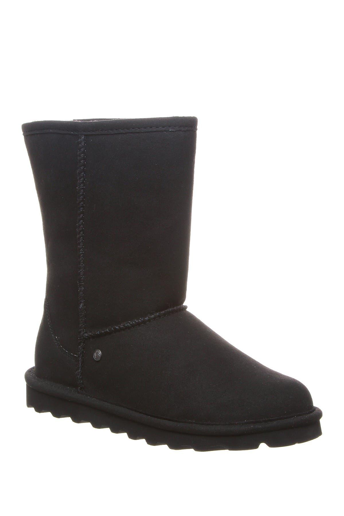 vegan faux fur boots