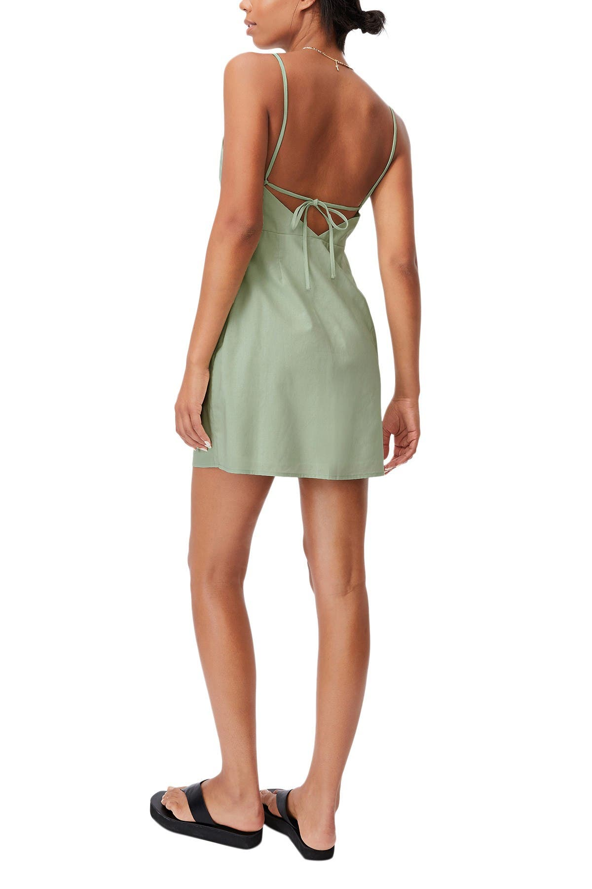 Image of Cotton On Woven Ally Strappy A-Line Tennis Mini Dress