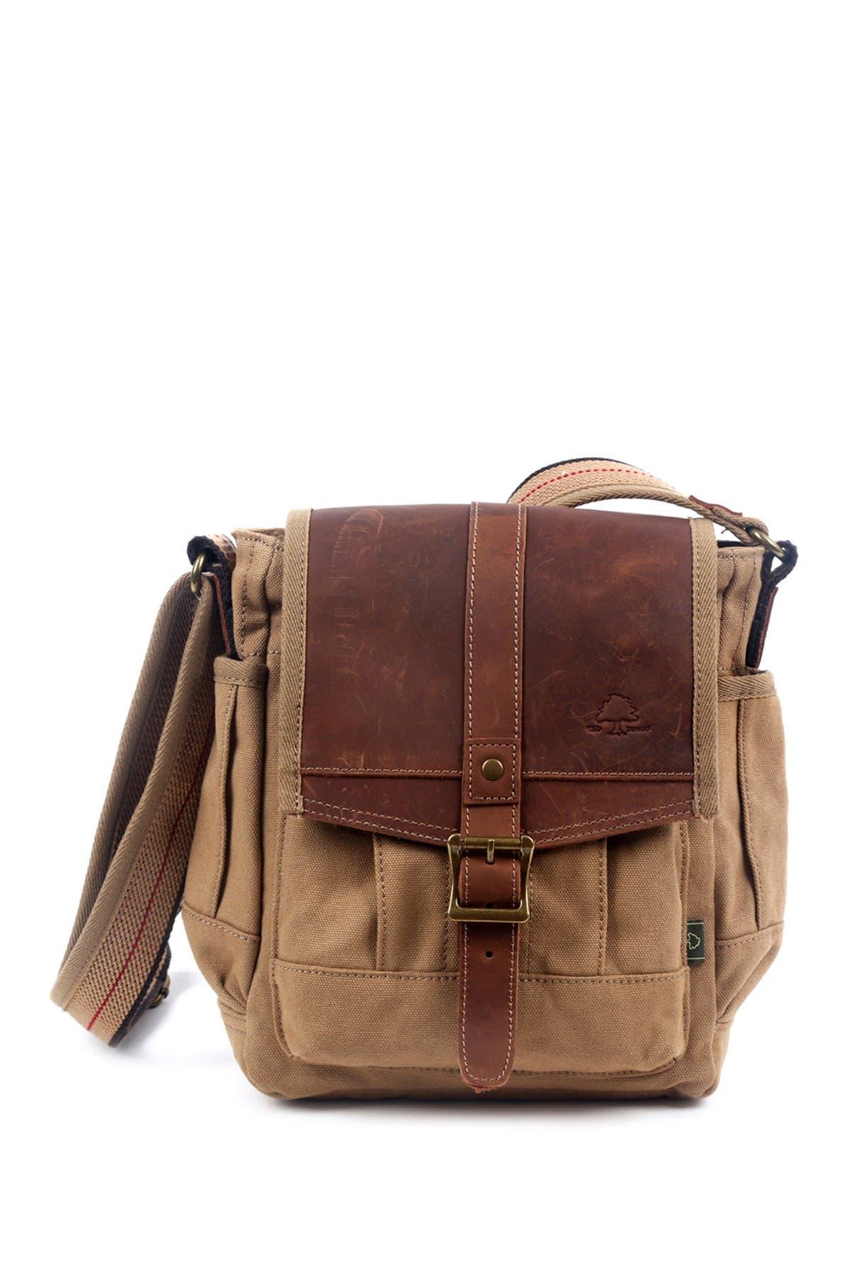 Image of TSD Turtle Ridge Canvas Crossbody Bag