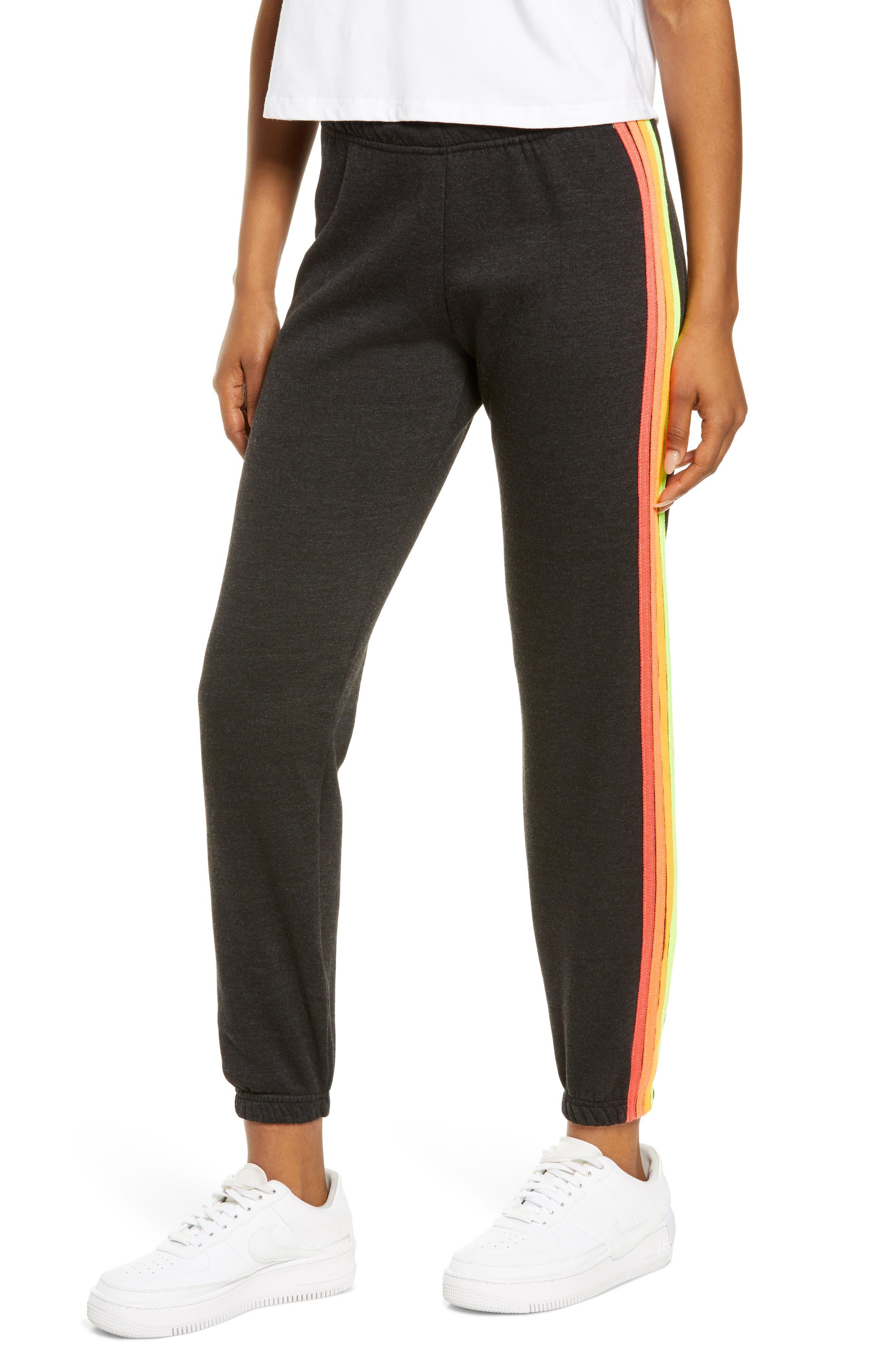 Four Stripe Sweatpants