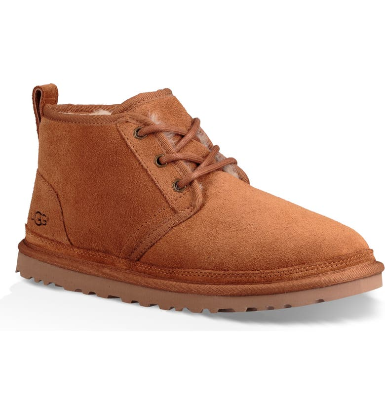 UGG<SUP>®</SUP> Neumel Boot, Main, color, CHESTNUT SUEDE