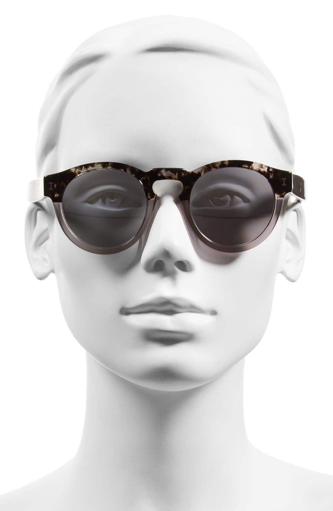 ,                             'Leonard' 47mm Sunglasses,                             Alternate thumbnail 28, color,                             020
