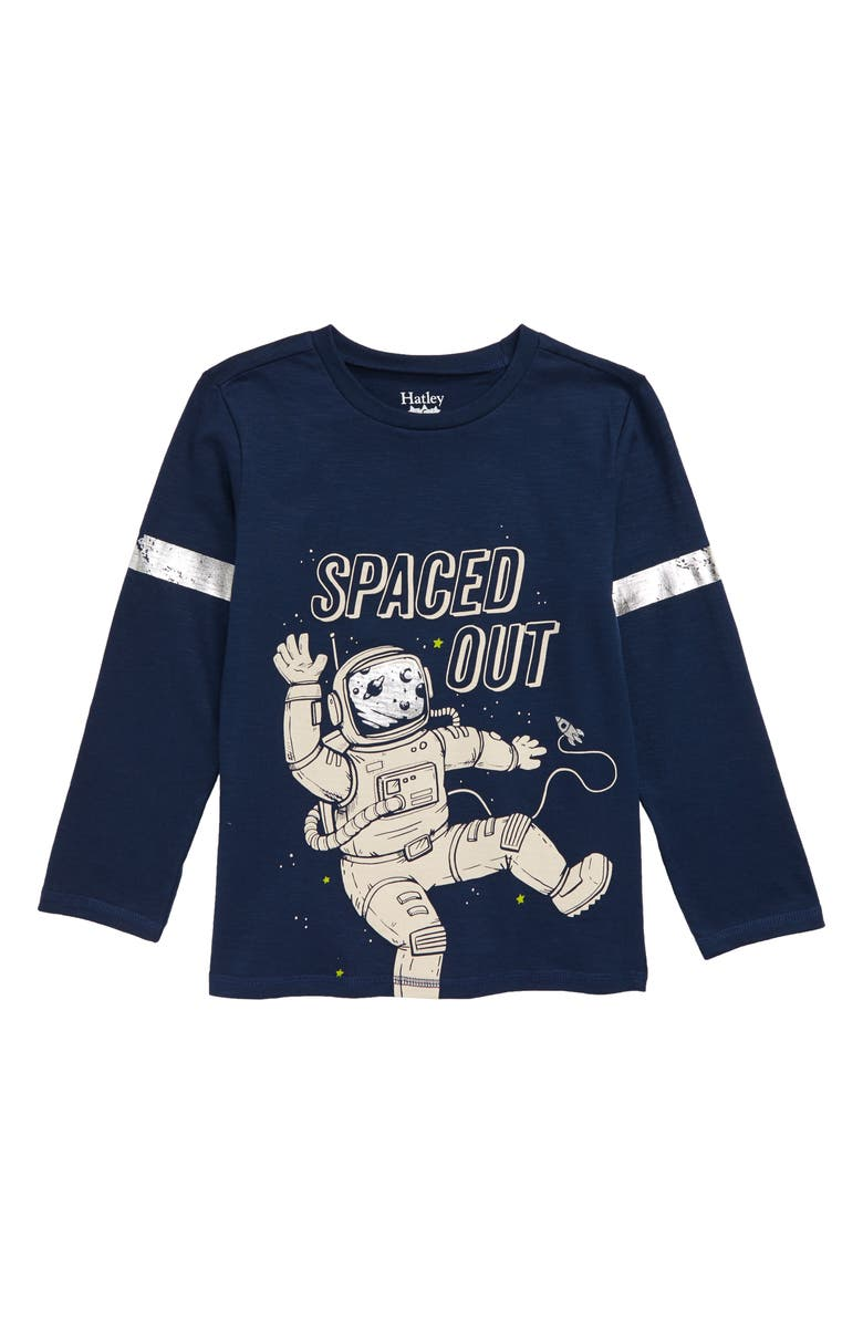 HATLEY Spaced Out T-Shirt, Main, color, BLUE