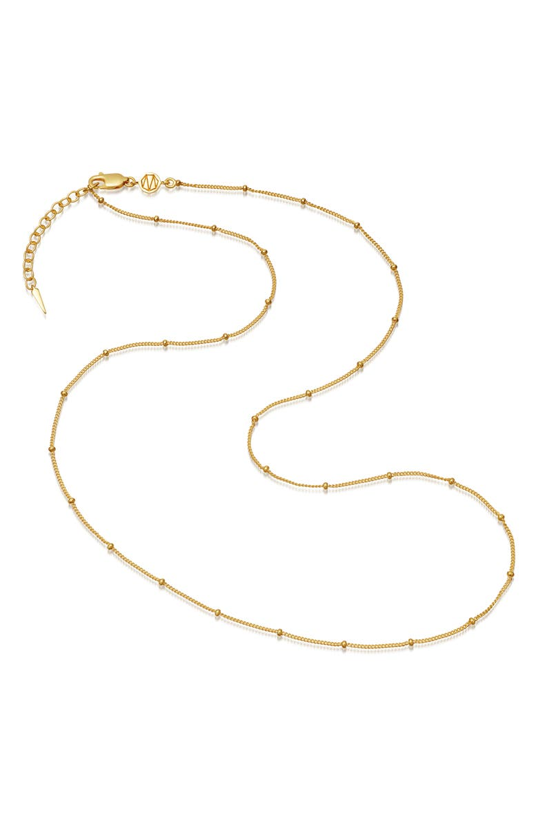 MISSOMA Medium Orb Chain Necklace, Main, color, GOLD