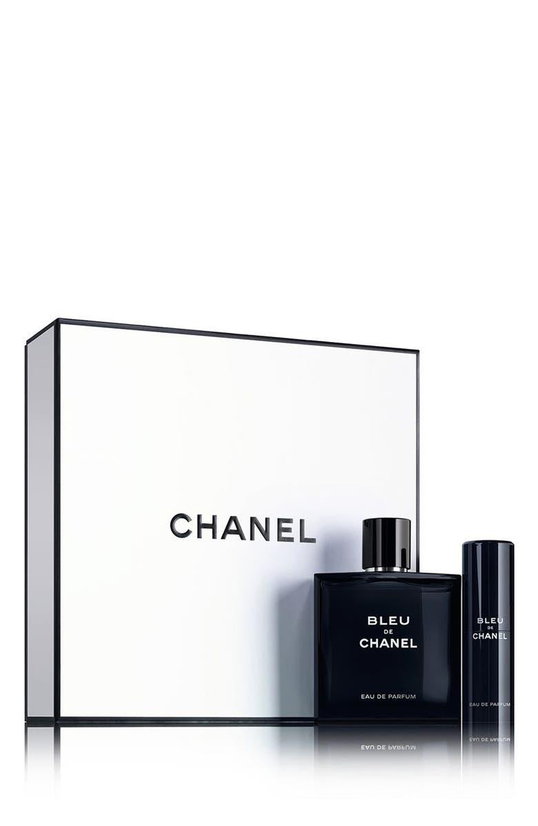 CHANEL BLEU DE CHANEL Eau de Parfum Set, Main, color, 000